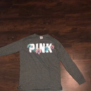 VS pink long sleeve shirt